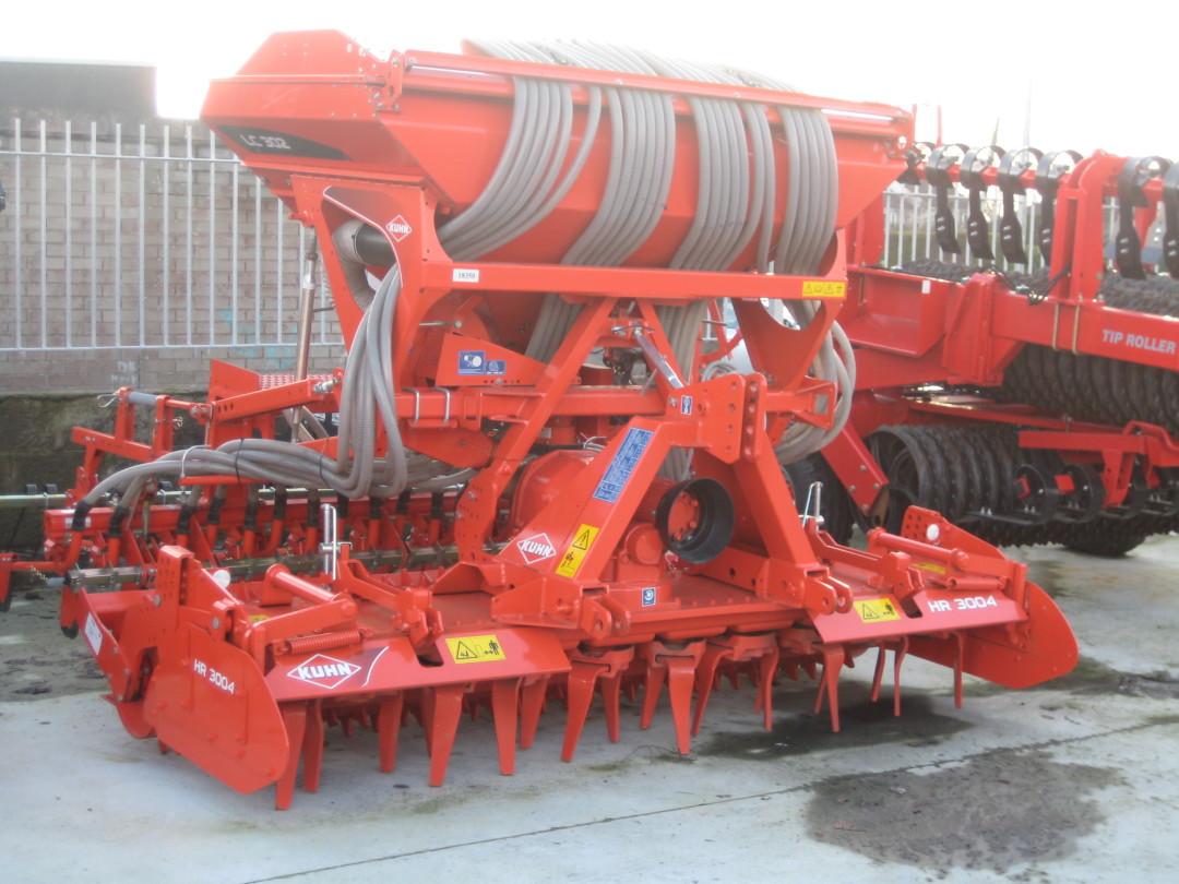 NEW Kuhn LC302 Seed drills c/w 3004 Power Harrow